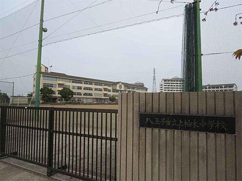 中古マンション-八王子市上柚木3丁目 八王子市立上柚木中学校(250m)