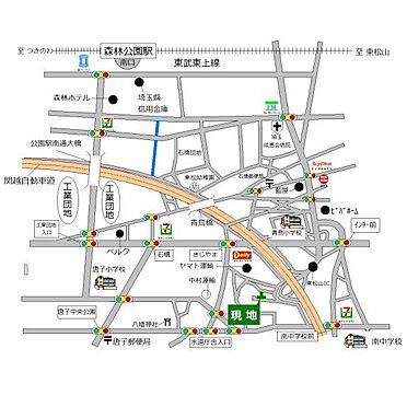 土地-東松山市大字石橋 地図