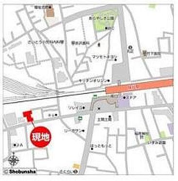 店舗(建物一部)-西東京市東町3丁目 地図