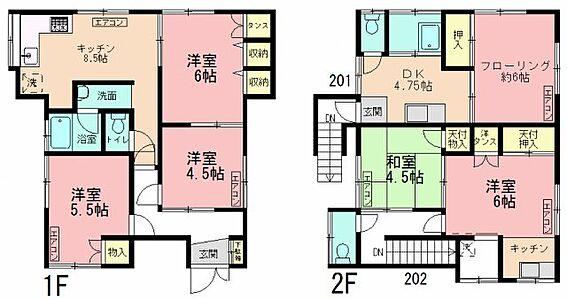 アパート-横浜市西区西戸部町2丁目 間取り