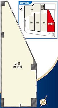 店舗(建物一部)-世田谷区松原2丁目 間取り