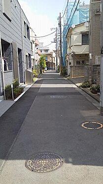 アパート-渋谷区幡ヶ谷3丁目 前面道路1