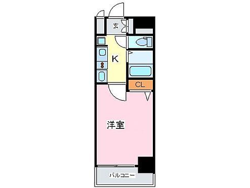 マンション(建物一部)-大阪市中央区南久宝寺町1丁目 2点セパレートで清潔感があり、室内には洗濯機置場あるので便利です。