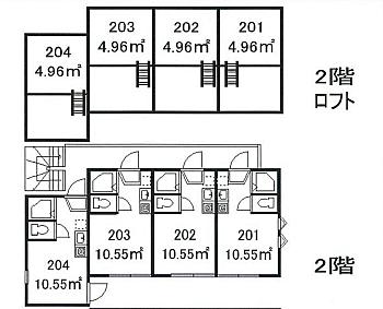 アパート-中野区鷺宮3丁目 間取り