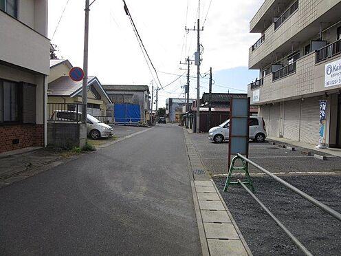 アパート-佐野市久保町 前面道路