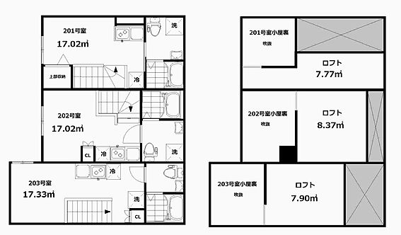 アパート-大田区大森西7丁目 間取り