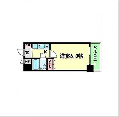 マンション(建物一部)-大阪市浪速区元町1丁目 間取り