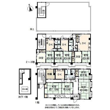 アパート-仙台市若林区新寺3丁目 間取り図