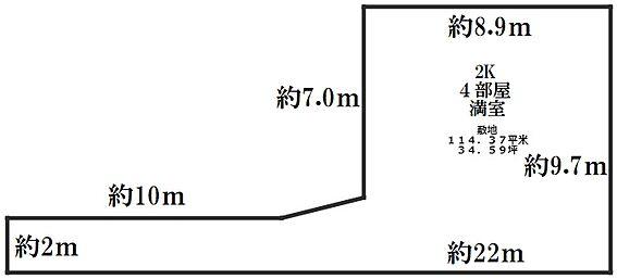 アパート-江戸川区平井6丁目 間取り