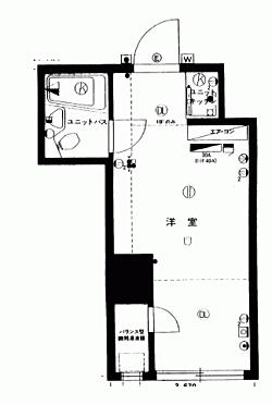 マンション(建物一部)-新宿区新宿5丁目 間取り