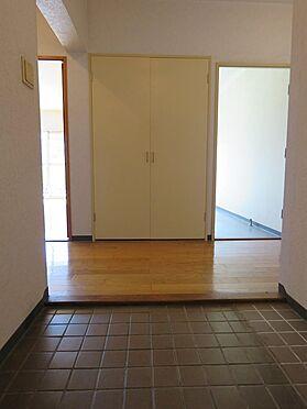 区分マンション-八王子市南大沢4丁目 玄関に来客があっても室内が見えません。