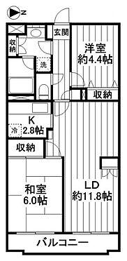 マンション(建物一部)-戸田市大字新曽 間取り図