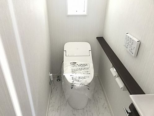 新築一戸建て-神戸市須磨区白川台5丁目 トイレ
