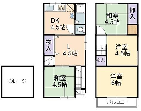 店舗・事務所・その他-東大阪市長田西5丁目 間取り