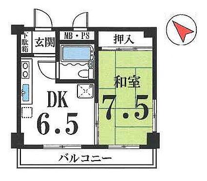 マンション(建物一部)-京都市上京区三軒町 最上階の東南角部屋