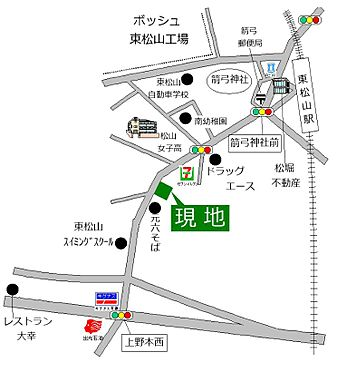 中古マンション-東松山市幸町 地図