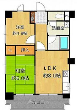 マンション(建物一部)-大阪市東住吉区桑津4丁目 ファミリーにもおすすめの間取り