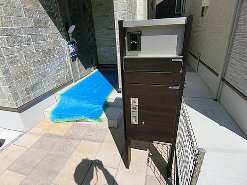戸建賃貸-八王子市松木 宅配ボックス 何かと便利です