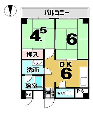 マンション(建物一部)-京都市右京区西院久保田町 南向きバルコニー