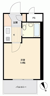 区分マンション-金沢市菊川1丁目 間取り