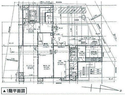 ビル(建物全部)-横浜市金沢区寺前2丁目 1階平面図