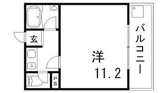 区分マンション-神戸市長田区五位ノ池町3丁目 間取り