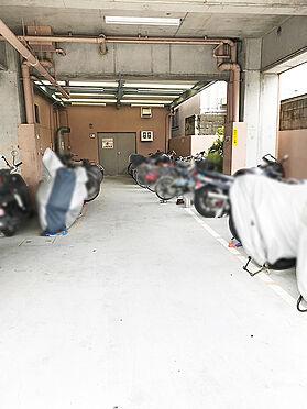 区分マンション-大阪市生野区勝山南4丁目 駐輪場・バイク置場完備。
