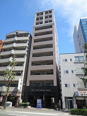 マンション(建物一部)-福岡市博多区博多駅前4丁目 エントランス側の外観。令和2年10月撮影。