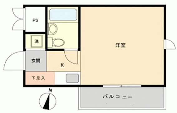 中古マンション-名古屋市天白区平針 間取り