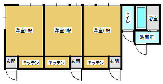 アパート-常総市豊田 間取り
