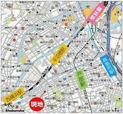 ビル(建物全部)-横浜市西区中央2丁目 地図