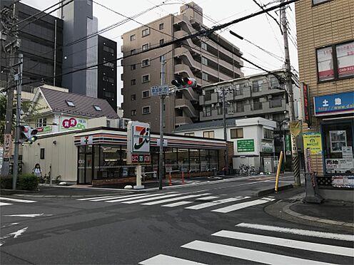 中古マンション-草加市氷川町 セブンイレブン 氷川町店(674m)