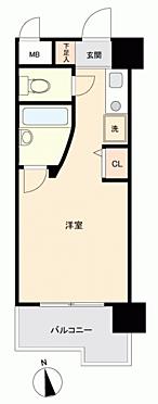 区分マンション-福岡市博多区千代2丁目 間取り