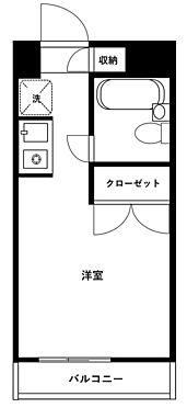 マンション(建物一部)-川崎市中原区木月4丁目 間取り