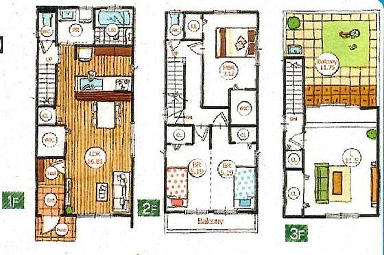戸建賃貸-碧南市中山町6丁目 各部屋収納スペースが充実!