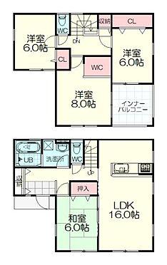 新築一戸建て-仙台市太白区西の平1丁目 間取り
