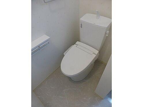 アパート-かほく市内日角5丁目 トイレ