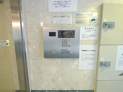 マンション(建物一部)-大阪市都島区片町2丁目 防犯性を高めるオートロック