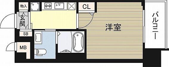 マンション(建物一部)-大阪市浪速区桜川2丁目 収納スペースやパウダールームのある暮らしやすい間取り