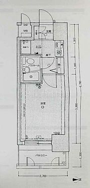 マンション(建物一部)-大阪市北区豊崎1丁目 間取り