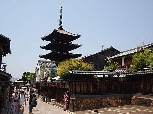 ホテル-京都市東山区毘沙門町 法観寺(八坂の塔)まで387m