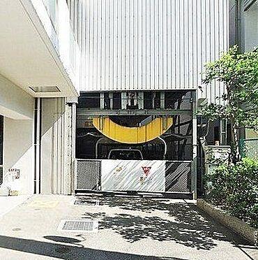 マンション(建物一部)-堺市堺区住吉橋町2丁 プライバシーに配慮された駐車場