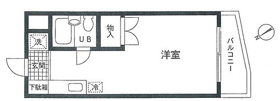 マンション(建物一部)-藤沢市弥勒寺 南西向き・ワンルームです♪