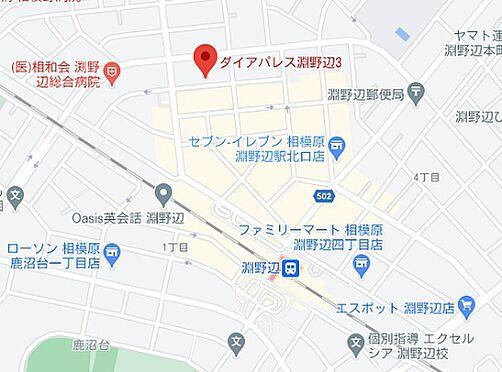 区分マンション-相模原市中央区淵野辺3丁目 地図