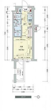 マンション(建物一部)-名古屋市中区新栄1丁目 間取り