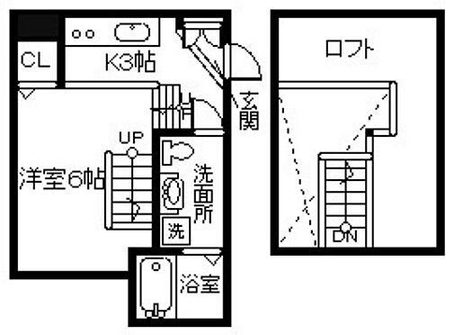 アパート-下関市一の宮町4丁目 間取り