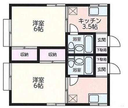 アパート-横浜市港北区菊名2丁目 間取り