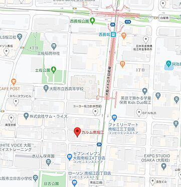 マンション(建物一部)-大阪市西区南堀江4丁目 地図