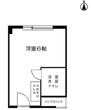 マンション(建物一部)-大阪市福島区福島2丁目 間取り