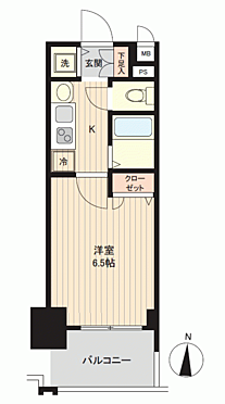 マンション(建物一部)-名古屋市中村区名駅南1丁目 間取り